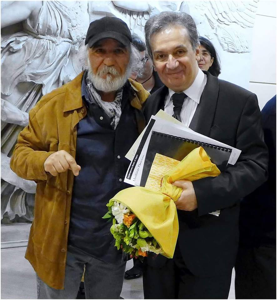 with the famous Greek photographer Christos Zouliatis