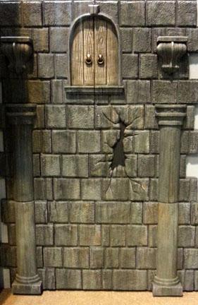 Faux Stone Panel Plain Wall