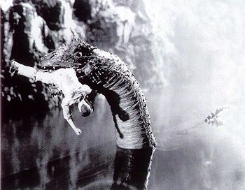 Image result for king kong 1933 water monster