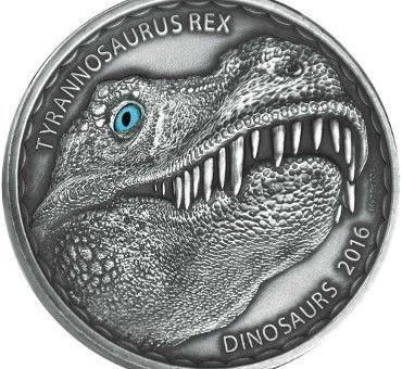 burkina faso dinosaur coin