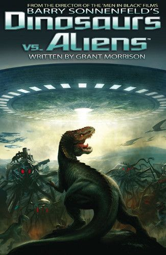 dinosaurs vs aliens comic book