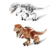 Indominus rex, Tyrannosaurus rex Minifigur Spielbaustein 2 Stücken - 1
