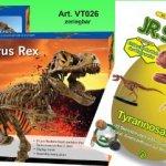 Set Riesen Tyrannosaurus Rex und Dinosaurier Experimente mit Lehrbuch - 1