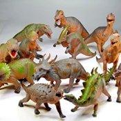 Dinosaurier 42-57 cm massiv Dino groß verschiedene verfügbar - 1