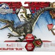 Hasbro B1634360 - Jurassic World Velociraptor Blue