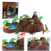 SIMBA Nature World Dinosaurier Landschaft Dinoland Spielwelt XXL Dino Welt