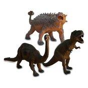 Kunststoff Dinosaurier Saurier Dinos sortiert Plastikdino 42-57 cm