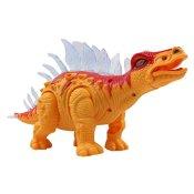 Yier® Elektronisches Spielzeug orange Gehen Dinosaurier Stegosaurus