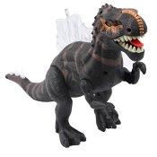 Yier® Elektronisches Spielzeug Grau Gehen Ridgeback Dinosaurier