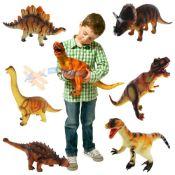 36cm Groß Weich Schaum Gummi Ausgestopfte Dinosaurier Spielzeug Tiere