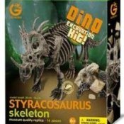 Geoworld Dino Excavation Kit- Styracosaurus Skeleton by Geoworld - 1