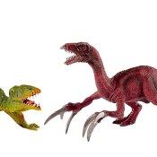 Schleich Dinosaurier: 41425 Dimorphodon und Therizinosaurus, klein