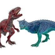 Schleich Dinosaurier: 42215 Carnotaurus und Giganotosaurus, klein