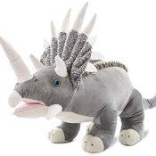 Wagner 4513 - Plüschtier Dinosaurier Triceratops - 50 cm gross - Dino