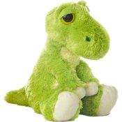Dreamy Eyes Plüschtier Dinosaurier grüner T-Rex, Kuscheltier ca. 30 cm