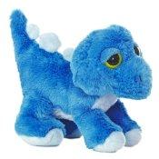 Dreamy Eyes Plüschtier Dinosaurier blauer Stegosaurus, Kuscheltier ca. 30 cm