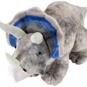 Wild Republic 15495 - Dinosauria Plüsch Triceratops, 48 cm