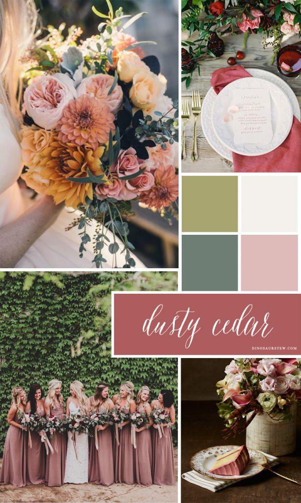 Dusty Cedar Color Inspiration Amp Mood Board Pantone Fall 2016