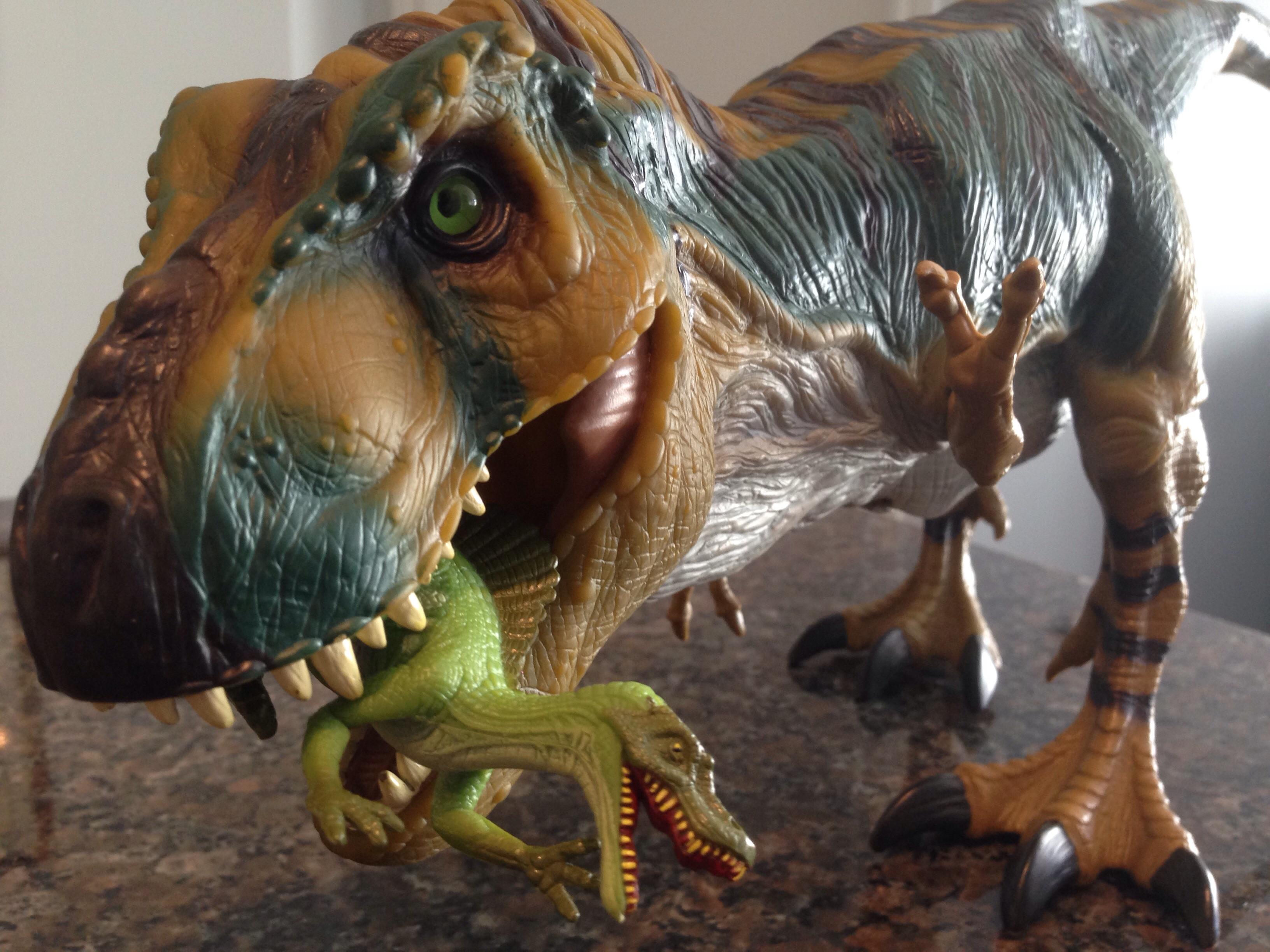 Tyrannosaurus Rex Toys : Tyrannosaurus rex bull from the lost world jurassic park