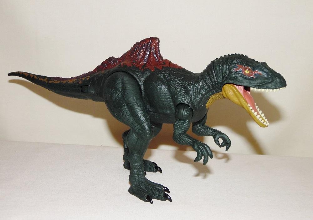 Jurassic World Dino Rivals Dual Attack Concavenator Mattel Dinosaur New