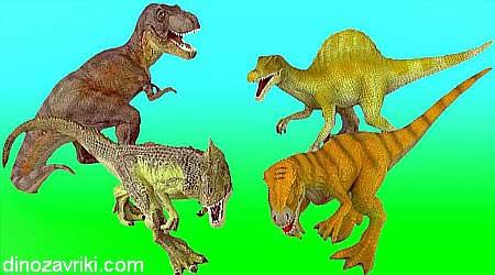 Тираннозавр против аллозавра: отличия