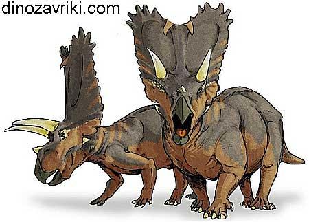 Динозавр с рогами: особенности анатомии