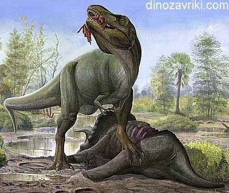 Динозавр с воротником: трицератопс или тираннозавр