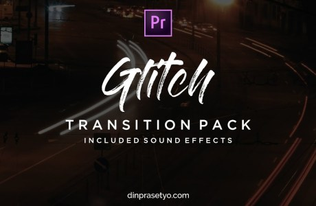 Glitch Transition Pack