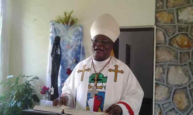 Homélie de la nativité de Mgr José MOKO