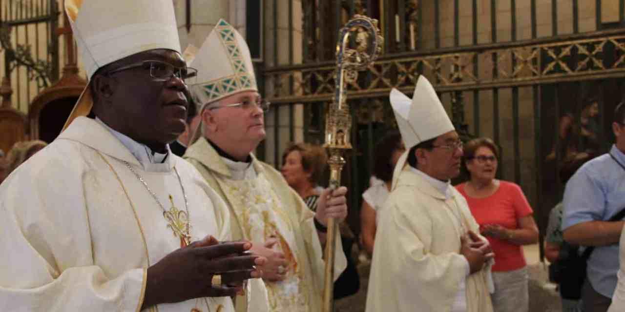 Visite canonique de Mgr José Moko  en  Espagne du 05 au 10 septembre 2017.