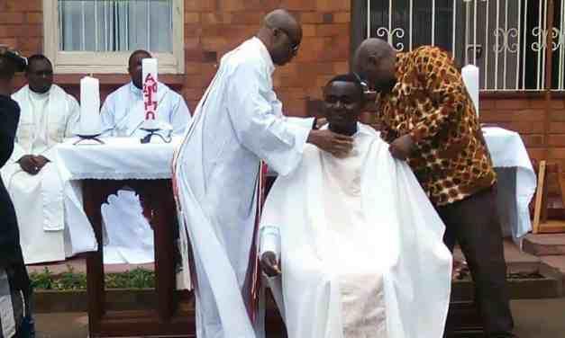 Durban : L'abbé Serge Lawela Haïta accueilli dans sa nouvelle paroisse.