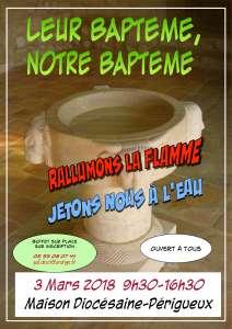 Affiche baptême 2018