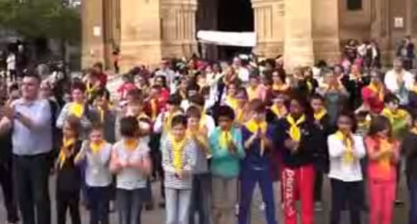 Festi-KT pour les enfants de l'ensemble pastoral du Bergeracois – Vidéo