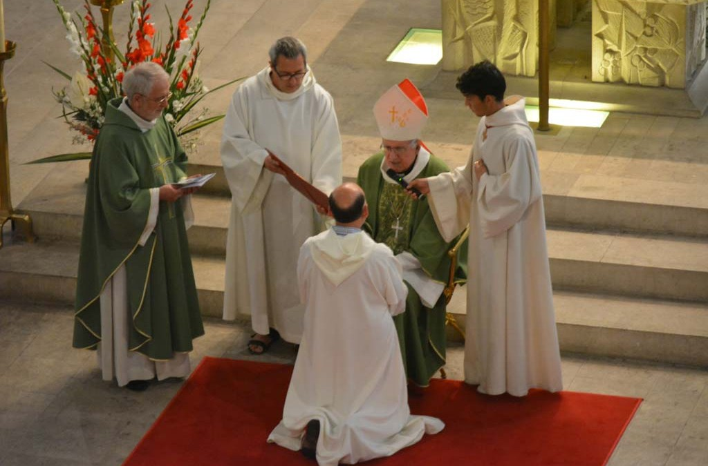 Ordination diaconale en photos