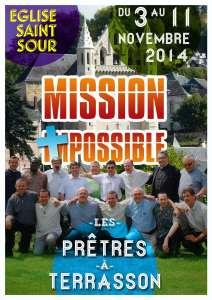 affiche prêtres terrassonnais