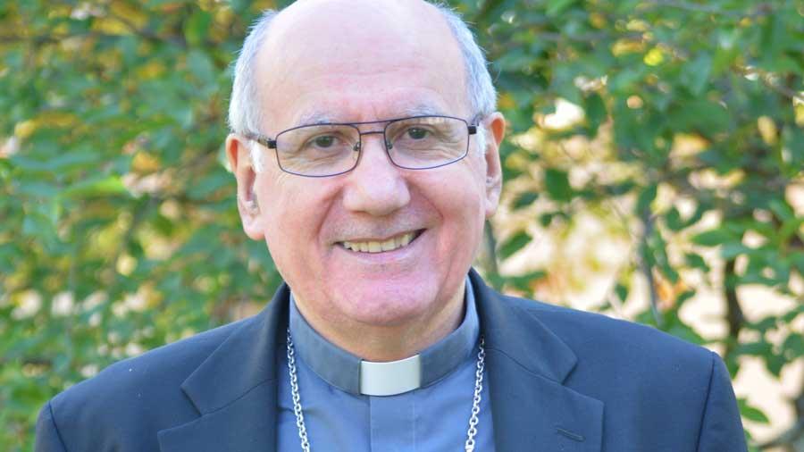 Vœux de Mgr Philippe Mousset