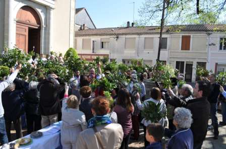 Messe des Rameaux - Montpon