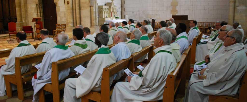 Prêtres : changements dans le diocèse
