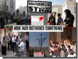 Aider l'Église de Syrie