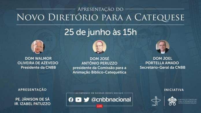 CNBB apresenta em uma live o 'Novo Diretório para a Catequese'