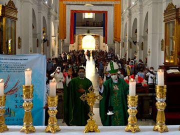 Inicio del camino sinodal en Escuintla - Sínodo 2021-2023