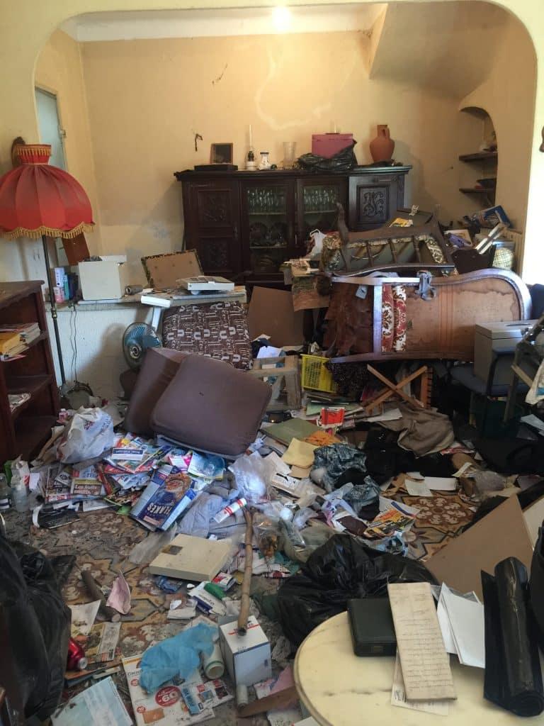 Nettoyage de logement insalubre  Dbarras appartement insalubre