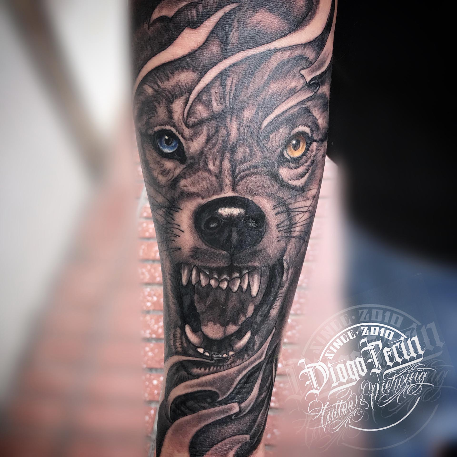 Blanco Y Negro Diogo Tattoo
