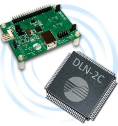 dln 2 usb i2c spi gpio adapter [ 1100 x 1100 Pixel ]