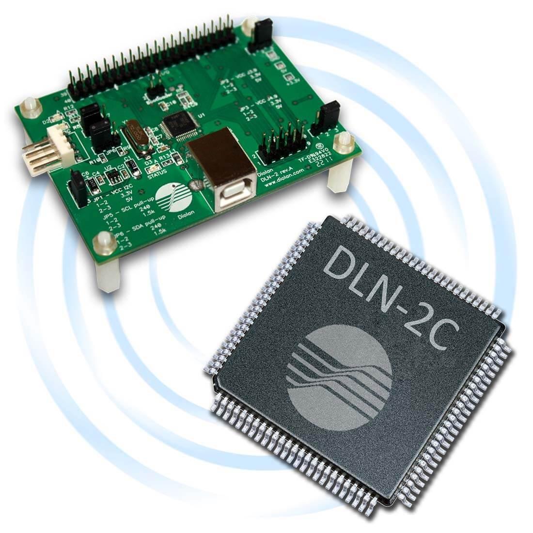 hight resolution of dln 2 usb i2c spi gpio adapter