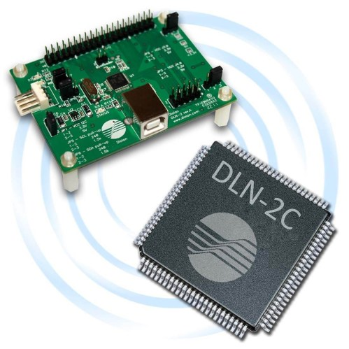 small resolution of dln 2 usb i2c spi gpio adapter