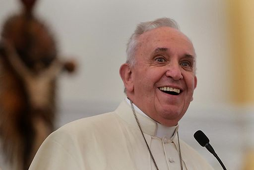 Have you heard what the Pope says will make you happy?