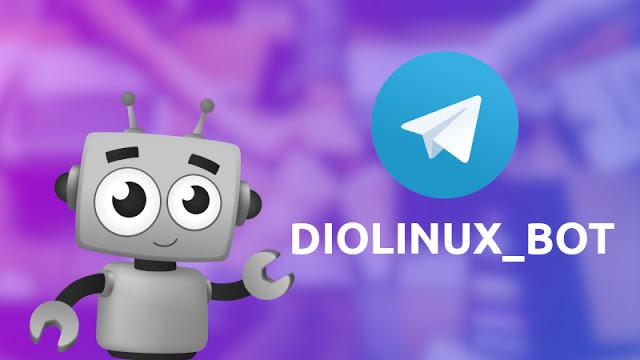 Fizemos um Bot para Telegram para você não perder conteúdo do Diolinux!