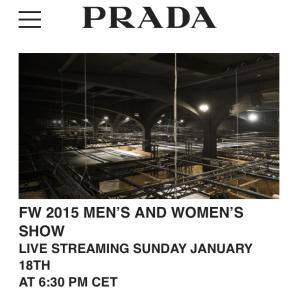desfile Prada FX15-mens show