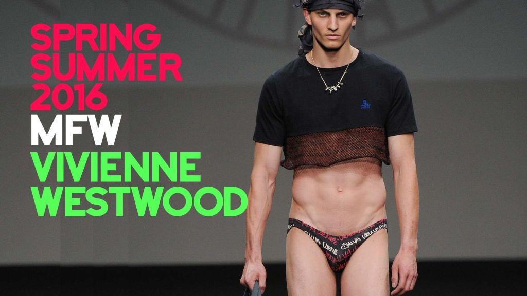 Vivienne Westwood MAN - Spring-Summer 2016